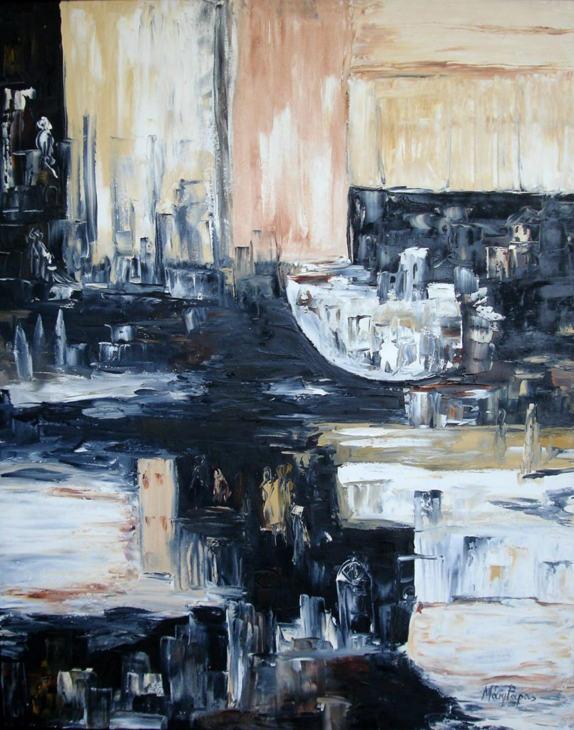 city-view-5-palette-knife-textured-art-abstract-painting