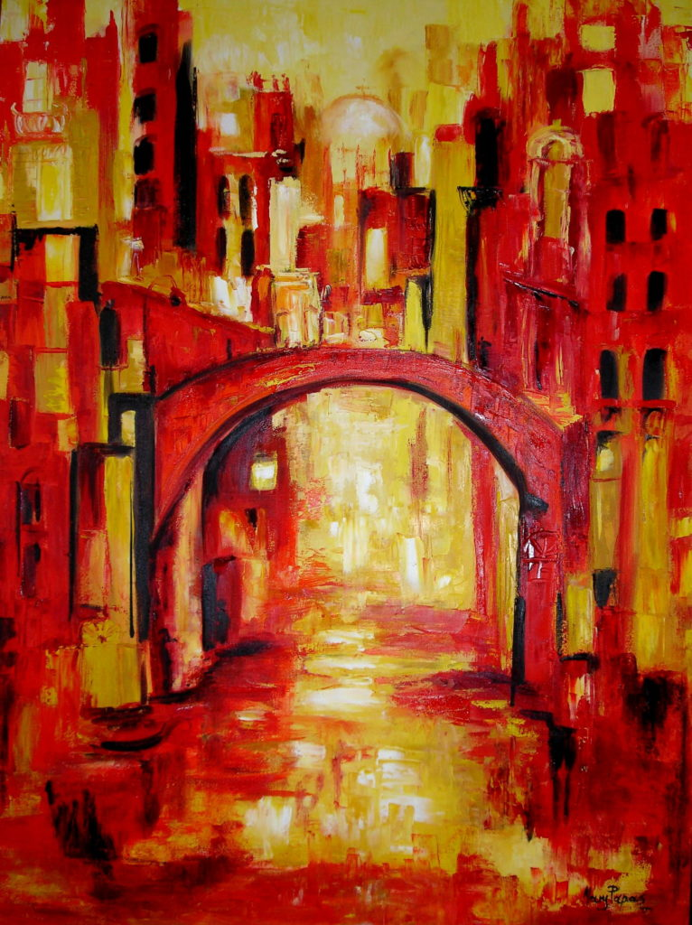 venice-canal-palette-knife-textured-art-abstract-painting