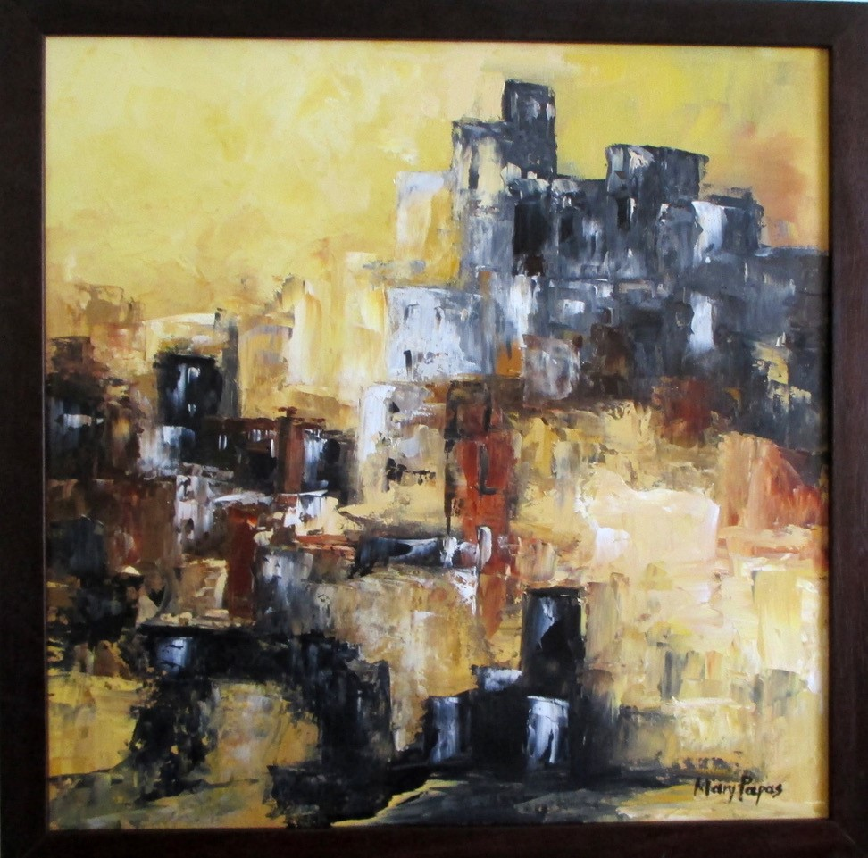 city-life-palette-knife-textured-art-abstract-painting