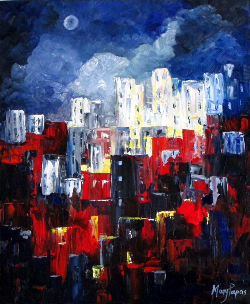 city-by-night-palette-knife-textured-art-abstract-painting