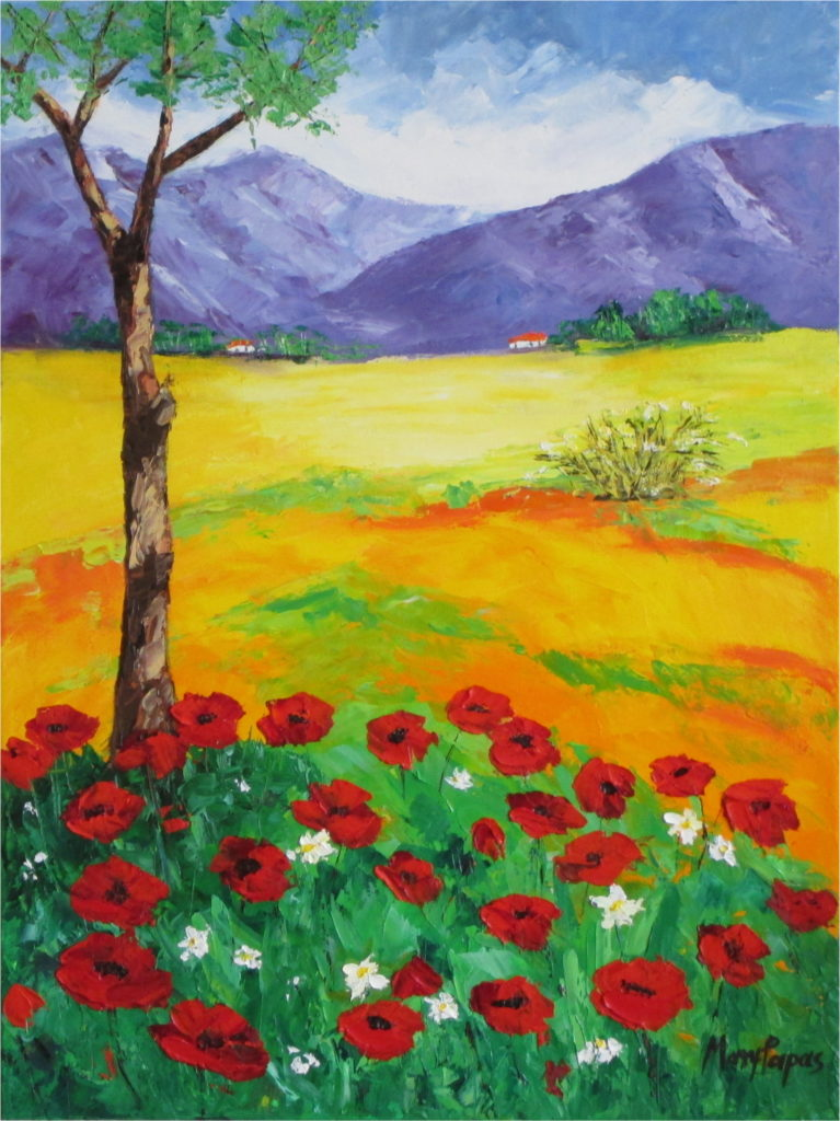 country-scene-palette-knife-primary-colourful-textured-wild-landscape-country-art-painting