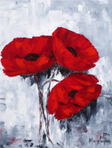poppies-for-you-palette-knife-textured-country-art-painting