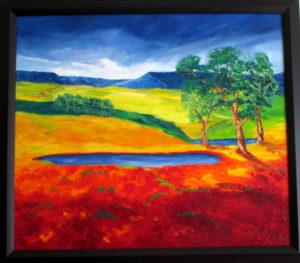 Overberg Country framed